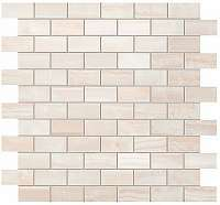Плитка для ванной Atlas concorde  Pure White Brick Mosaic фото