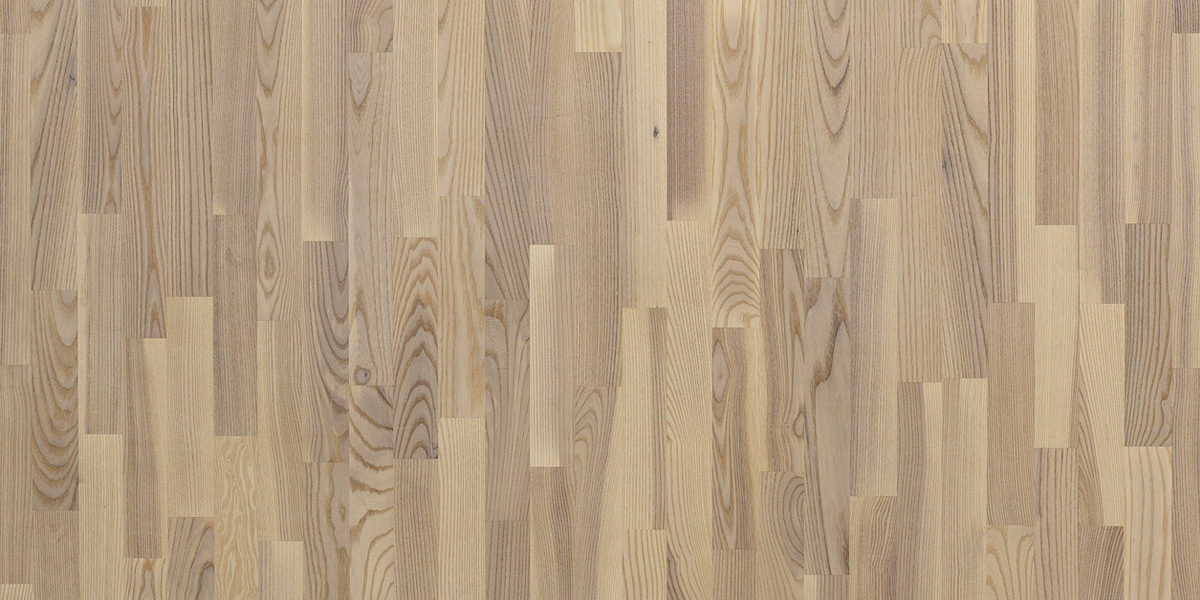 Паркетная доска PolarWood CLASSIC  OAK LIVING WHITE MATT 3S фото
