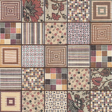 Коллекция Rocersa  Decor Mosaico Patchwork Декор 31,6x31,6 фото